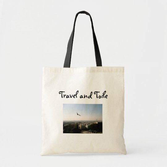 Travel and Toile Tote