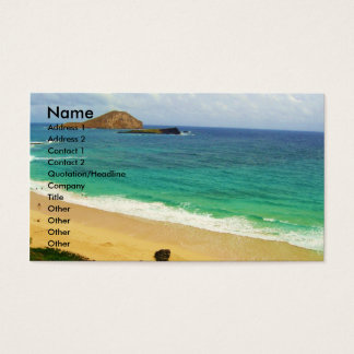 Travel and Tourism Business card