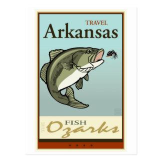 Travel Arkansas Post Card