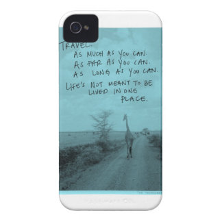 Travel as much as you can Case-Mate iPhone 4 case
