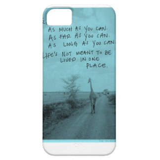 Travel as much as you can iPhone SE/5/5s case