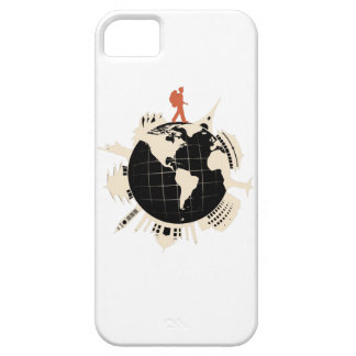 Travel Backpacker iPhone Case