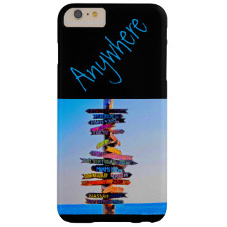 Travel Barely There iPhone 6 Plus Case