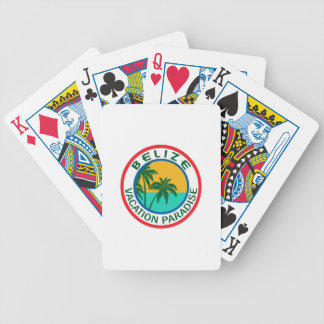 TRAVEL BELIZE BICYCLE PLAYING CARDS