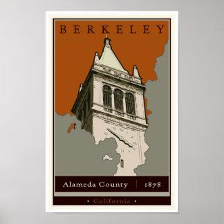 Travel Berkeley Poster