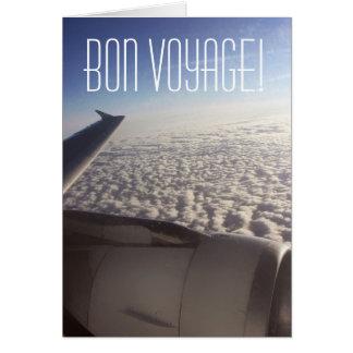 Travel Bon Voyage Card