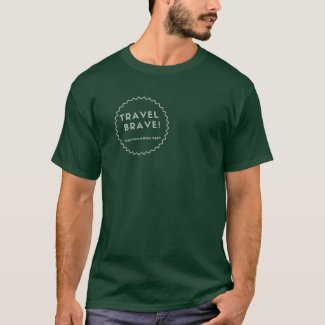 Travel Brave - Outline Logo T-Shirt