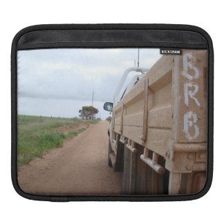 Travel BRB gravel track landscape sky ute Sleeve For iPads