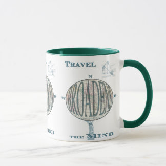 Travel Broadens the Mind Mug