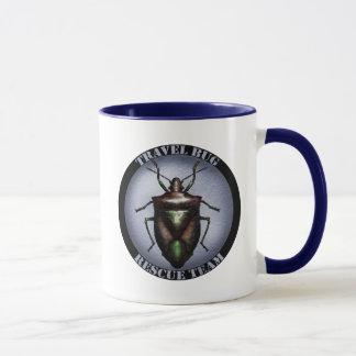 Travel bug rescue team mug