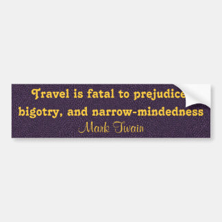 travel bumper sticker