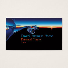 Travel Business Business Card at Zazzle