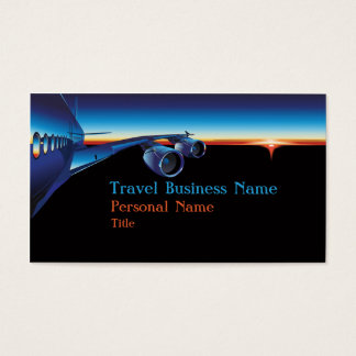 Travel Business Business Card