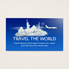 Travel Business Card at Zazzle