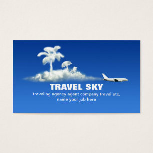 Travel business cards 5100 travel business card templates travel business card colourmoves Images