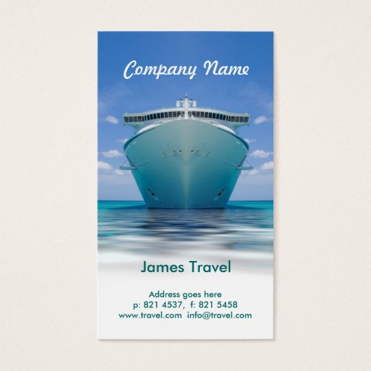 Travel business Card Template