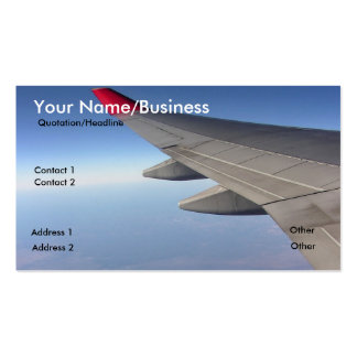 Travel Business Profile Card Business Card
