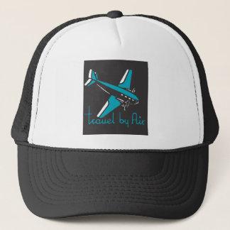 Travel By Air Trucker Hat