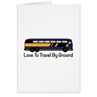 Travel by Ground Greeting Cards