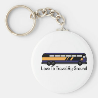Travel by Ground Key Chains