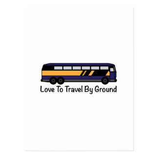 Travel by Ground Post Card
