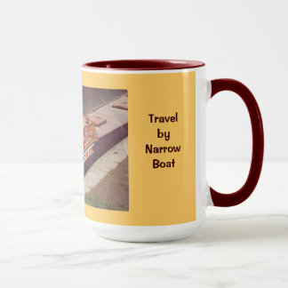 Travel by narrow boat mug