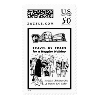 Travel By Train-Pennsylvania Railroad Stamps