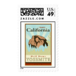 Travel California Postage Stamps
