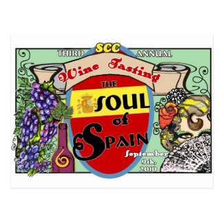 Travel Card -Soul of Spain