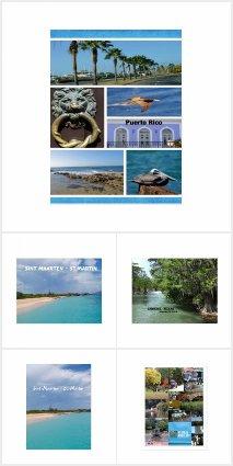 Travel Cards - Postcards