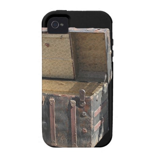 Travel Chest iPhone Cover ARt by CricketDiane Vibe iPhone 4 Cover