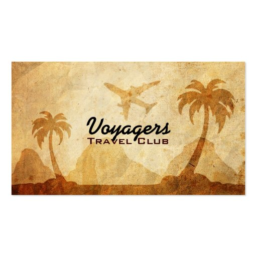 Club Corporate Travel: Travel Business Card Templates