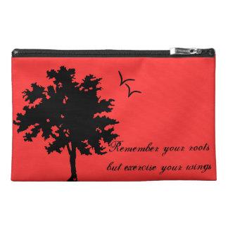Travel clutch travel accessories bag