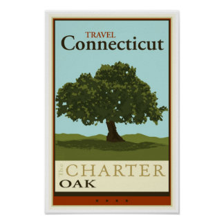 Travel Connecticut Poster