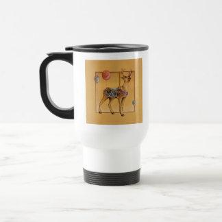 Travel Cup - Carousel Reindeer or Elk
