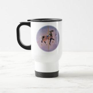 Travel Cup - Petaluma Carousel Horse 2 Mug