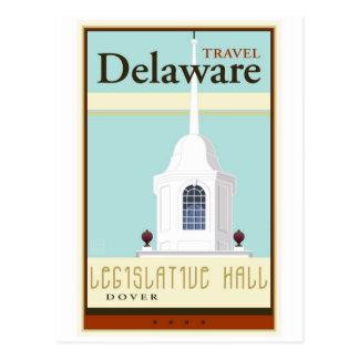 Travel Delaware Postcard