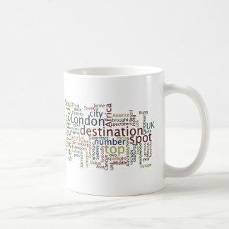Travel destination coffee mug