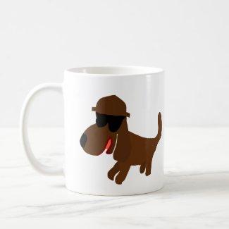 Travel Dog Coffee Mug