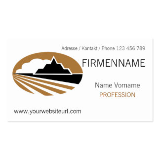 travel Double-Sided standard business cards (Pack of 100)