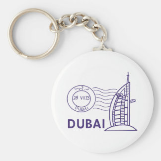 TRAVEL DUBAI KEYCHAIN