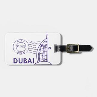 TRAVEL DUBAI LUGGAGE TAG