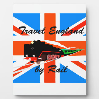 Travel England By Rail Plaque
