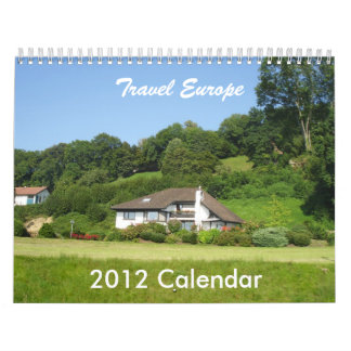 Travel Europe Calendar