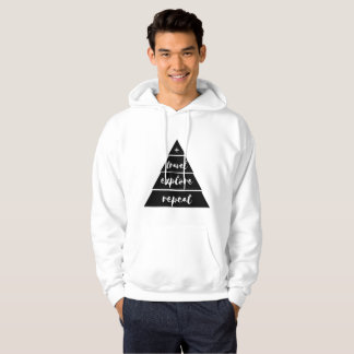 Travel explore repeat hoodie