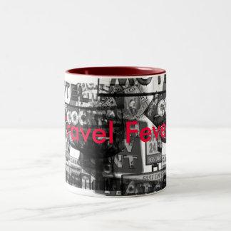 Travel Fever Custom Mug