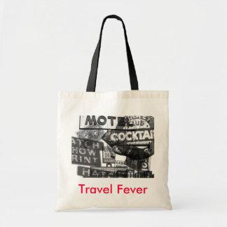 Travel Fever Custom Tote Budget Tote Bag