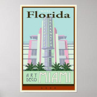 Travel Florida Poster