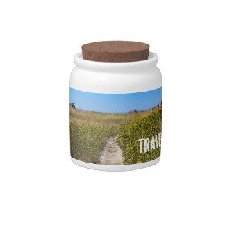 Travel Fund Jar Candy Jar