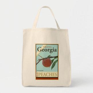 Travel Georgia Canvas Bag